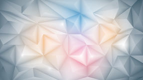 3D Geometric, Polygon, Triangle pattern shape. Vector Abstract 3D Geometric, Polygon ( polygonal ), Triangle pattern shape. White and light gray color in low Royalty Free Stock Photography