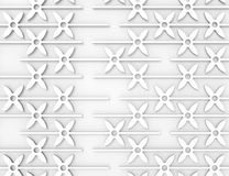 3d geometric seamless pattern. For your design Royalty Free Stock Photo