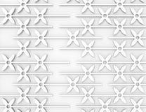 3d geometric seamless pattern Royalty Free Stock Photo