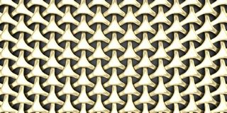 3D Geometric Weave Abstract Wallpaper Background. Render of 3D Geometric Weave Abstract Wallpaper Background royalty free stock images