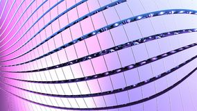 3D geometriska former, illustration för bakgrund 3D Stock Illustrationer