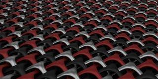 3D Geometryczni Wyplatają Abstrakcjonistycznego Tapetowego tło Zdjęcia Royalty Free
