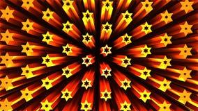 3D geometryczny kształt od gwiazd Obraz Royalty Free