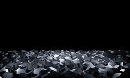 3d geometryczny tło Zdjęcie Stock