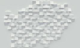 3d geometryczny tło Obrazy Stock