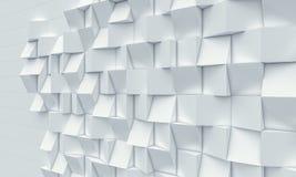 3d geometryczny tło Fotografia Stock