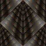 3d gestreept naadloos patroon De textuur van het gordijnkant stock illustratie