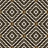 3d geweven Grieks zeer belangrijk grunge naadloos patroon Royalty-vrije Stock Foto