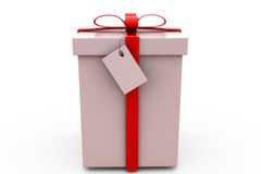 3d gift concept Royalty Free Stock Image