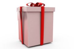 3d gift concept Stock Photography