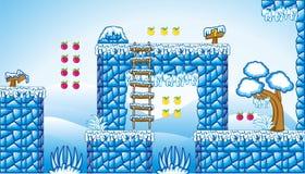 2D gioco 10 della piattaforma di Tileset Fotografie Stock Libere da Diritti