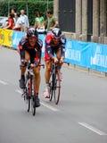 d giro Italia ostatni wyścig Fotografia Royalty Free