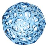 3d glass  abstract sphere Royalty Free Stock Image