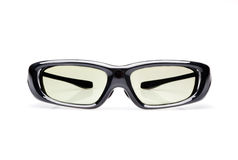 3D glasses. Active 3D glasses  on white background Stock Images