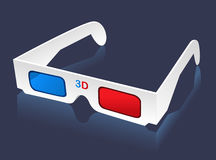 3D glasses cinema Royalty Free Stock Photos