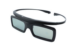 3D glasses. Isolated, White Background stock photos