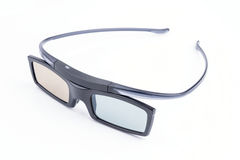 3d glasses. Isolated in white background Stock Images