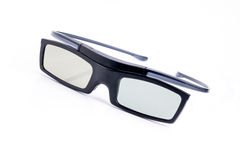 3d glasses. Isolated in white background Royalty Free Stock Image
