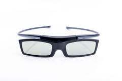 3d glasses. Isolated in white background Royalty Free Stock Photo