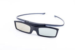 3d glasses. Isolated in white background Stock Photography