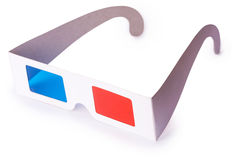 3D glasses Isolated on white background. Stock Image