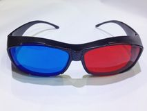 3d glasses. For 3d movies,3d televisions Stock Photo