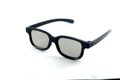 3D glasses white background Royalty Free Stock Photography