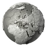 3D Globe Europe Royalty Free Stock Image
