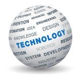 3d globe - technologie illustration stock