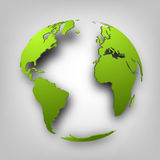 3d globe of the world. Stock Photos