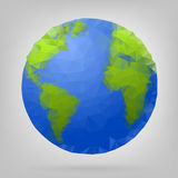 3d globe of the world. Stock Images