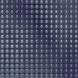 3d glossy abstract tiled bubble background in blue Royalty Free Stock Photo