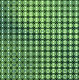 3d glossy abstract tiled bubble background in green blue Stock Photography