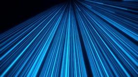 3D Glowing Blue Lines Animation VJ Loop Motion Background vector illustration