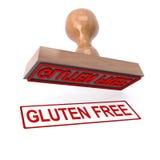 3d gluten uwalnia znaczek ilustracji