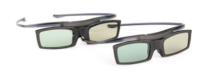 3D goggled für Heimkinotheater lizenzfreies stockbild