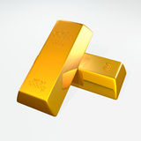 3d gold bars. Stock Photos