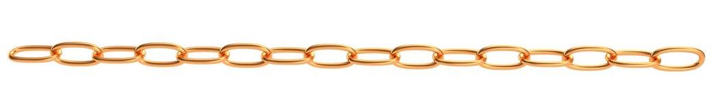 3d gold chain Stock Photos