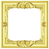 Vintage gold framework Stock Photo