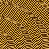 3d golvende achtergrond Dynamisch effect Patroon met optische illusie vector illustratie