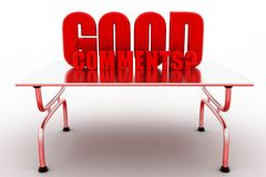 3d Good Comment Concept Stock Photo