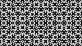 2D grafischer Musterhintergrund, der sich im Uhrzeigersinn bestanden aus einigen Entw?rfen mit mehrfarbiger Beschaffenheit dreht vektor abbildung