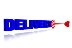 3D graphics, darts, metaphors - delivery Stock Photos