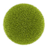 3d grass ball Royalty Free Stock Photography