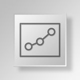 3D Gray Square Object Symbol Concept Stock Foto