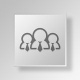3D Gray Square Object Symbol Concept Images stock