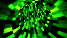 3D Green Sci-Fi Arificial Intelligence Tunnel - VJ Loop Motion Background. Cyber 3D Green Sci-Fi Arificial Intelligence Tunnel - VJ Loop Motion Background stock footage