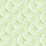 3D green wavy striped pin will grid Stock Photos