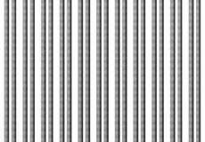 3d grey bars. 3d rendering of an abstract composition with a lot of grey bars Royalty Free Stock Images