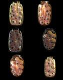 3d griezelige kruik van menselijke oogappels Royalty-vrije Stock Foto's